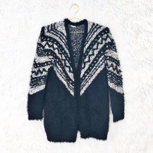 Urban Outfitters Ecote chenille cardigan sweater
